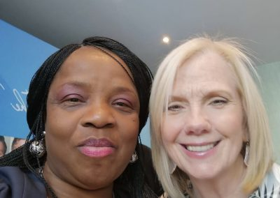 Adaobi Onyekweli with Ceil Stanford Rich Woman Professional Life Coach