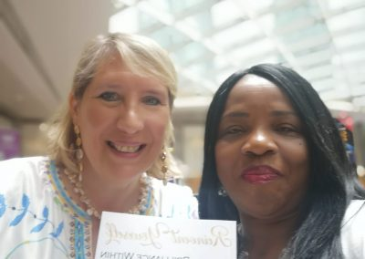 "Adaobi Onyekweli with Marie Diamond The Feng Shui Expert from The Movie ""The Secret """