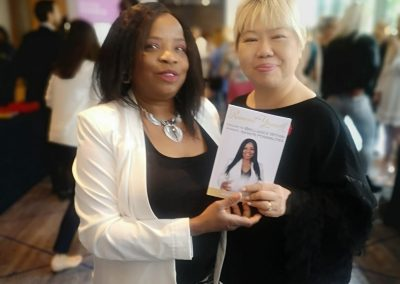 Adaobi Onyekweli with Veronica Tan - Co-founder of Success Resources
